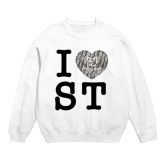 SHOP W SUZURI店のI ♥ Saba Tora スウェット Sweats