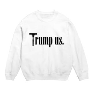 Trump us. Sweats