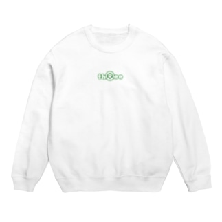 three LOGO NEON ForestGreen Sweats