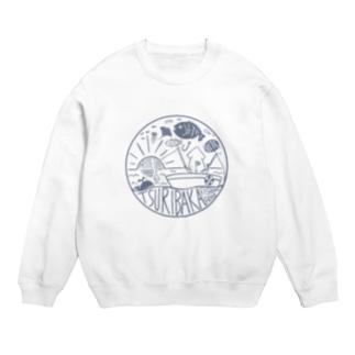 釣りバカ~Tsuribaka~ロゴ風デザイン Sweats