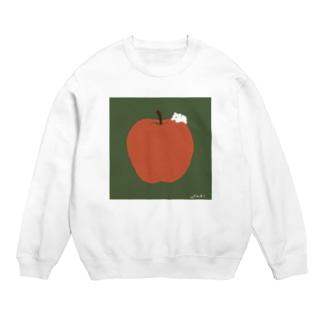 かわしまさきのぽってりりんご Sweats