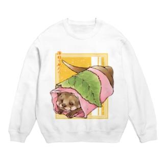 あんこ多めの関東風桜餅 Sweats