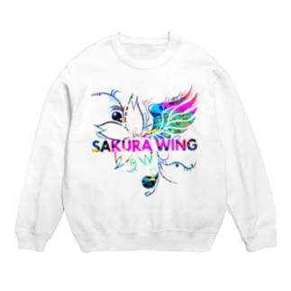 SAKURA WINGロゴ カラフル Sweats