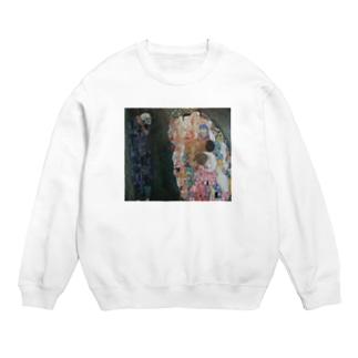 グスタフ・クリムト(Gustav Klimt) / 『死と生』(1915年) Sweats