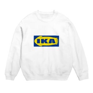 IKA イカ いか  ロゴ  Sweats