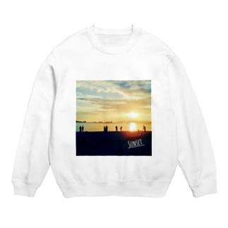 海辺の夕日 Sweats