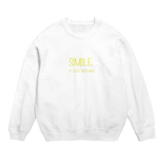 Smile ロゴ Sweats