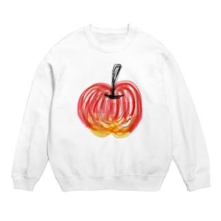 しりとりんご Sweats
