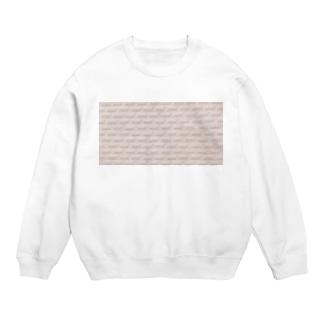 ホワイトピンクタイル Sweats