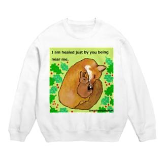キツネとウサギの友情 Sweats