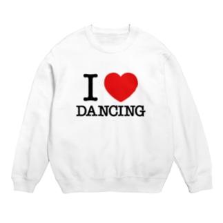 I Love Dancing アイラブ ダンス ダンシング ダンサー I LOVE ♡ Dancing Sweats