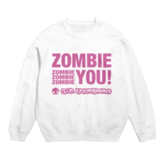 Zombie You! (pink print) スウェット