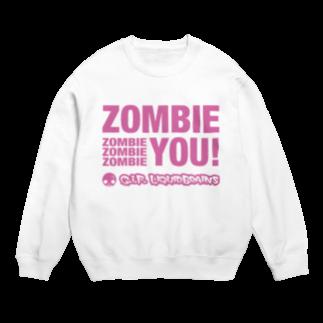 KohsukeのZombie You! (pink print)スウェット