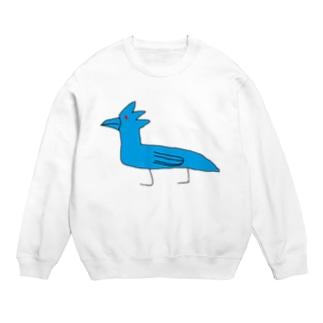 変な青いトリ Sweats