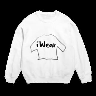 iWearのiWear オフィシャルロゴ Sweats