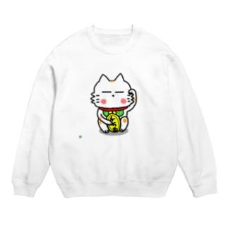 BK あーきちゃん招き猫バージョン スウェット