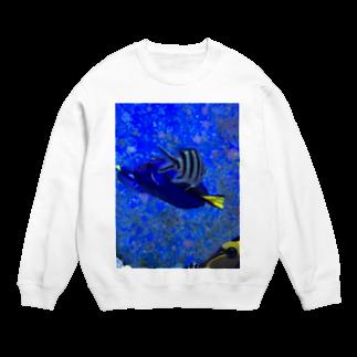 Luckyemeの交差する魚スウェット
