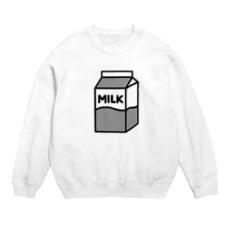 牛乳 スウェット