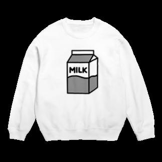 nikoの牛乳 スウェット