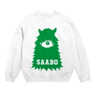 SAABO_FUR_ForestMan_L_G スウェット
