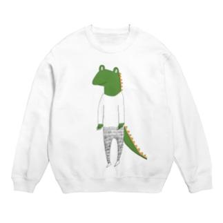 crocodile カラーバージョン Sweats