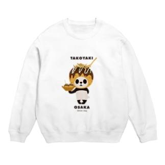 【大阪】たこ焼きパンダ Sweat