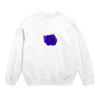 薔薇🌹パープルブルー💜💙 Sweats