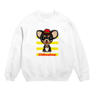 オリジナルデザインTシャツ SMOKIN'のちんちんチワワ Sweats
