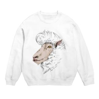 リーゼント羊(コリデール種) スウェット