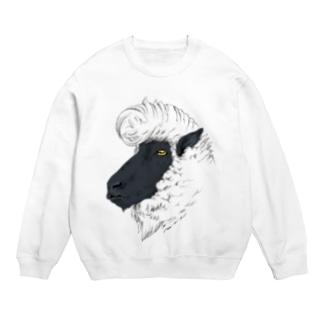 リーゼント羊(サフォーク種) スウェット