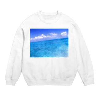 果てしない海の色 Sweats
