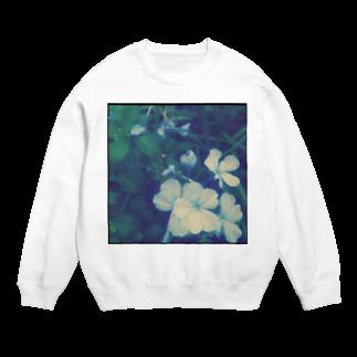 minimumのblue flower Sweats
