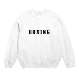BOXINGシンプル1 スウェット
