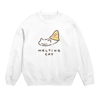 MELTING CAT (フチあり) Sweats