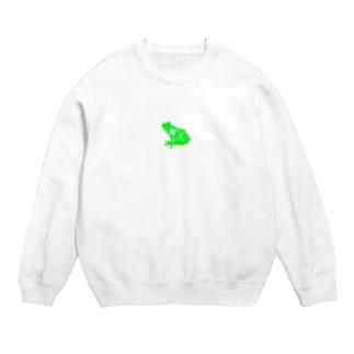 Studio:Frog おふざけ物販「緑」 Sweats