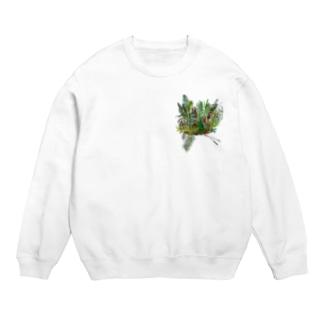 南国の植物 スウェット