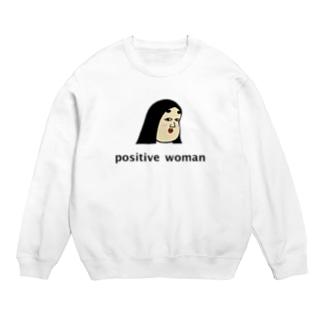 positive woman 式部 スウェット