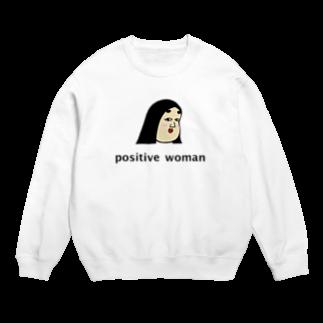 BUSONのショップのpositive woman 式部 Sweats