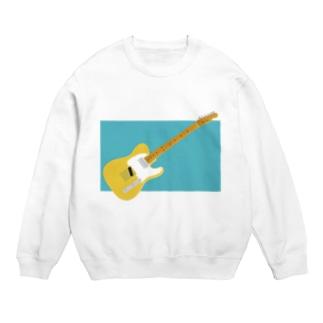 きいろいギター(背景:新橋色) Sweats