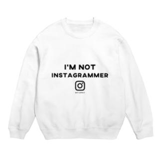 i'm not instagrammer スウェット