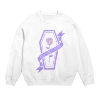【MOON SIDE】Rose Coffin Ver.2 #Purple×Orange Sweats