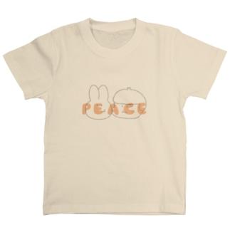 うさぎとピース T-shirts
