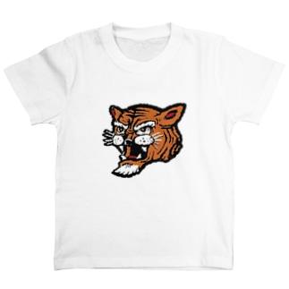 7 tiger (kids110) T-shirts