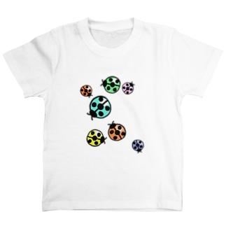 令和の刀鍛冶のてんとう虫colorful T-Shirt