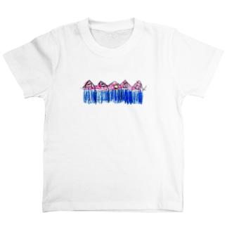 子どもの絵をオリジナル雑貨にします【aad (アード)】の【オーダー見本】 子どもの絵をTシャツにします T-Shirt