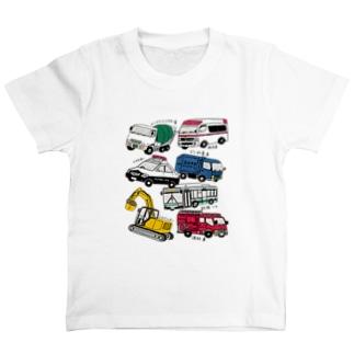 はたらくくるまシリーズ T-shirts