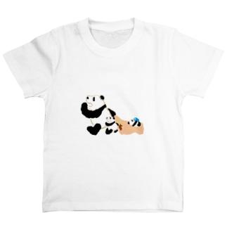 ねるぞー。パンダ T-shirts