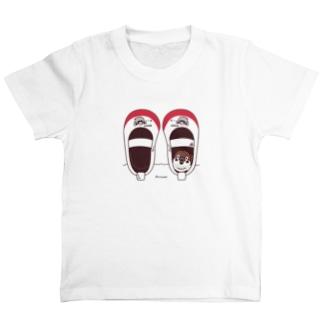 キッズサイズ*CT165 スズメがちゅん*うわばきA* T-Shirt