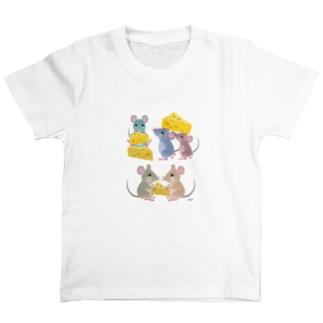 チーズとネズミたち T-shirts