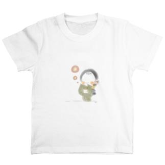 秋のおさげちゃん2 T-Shirt